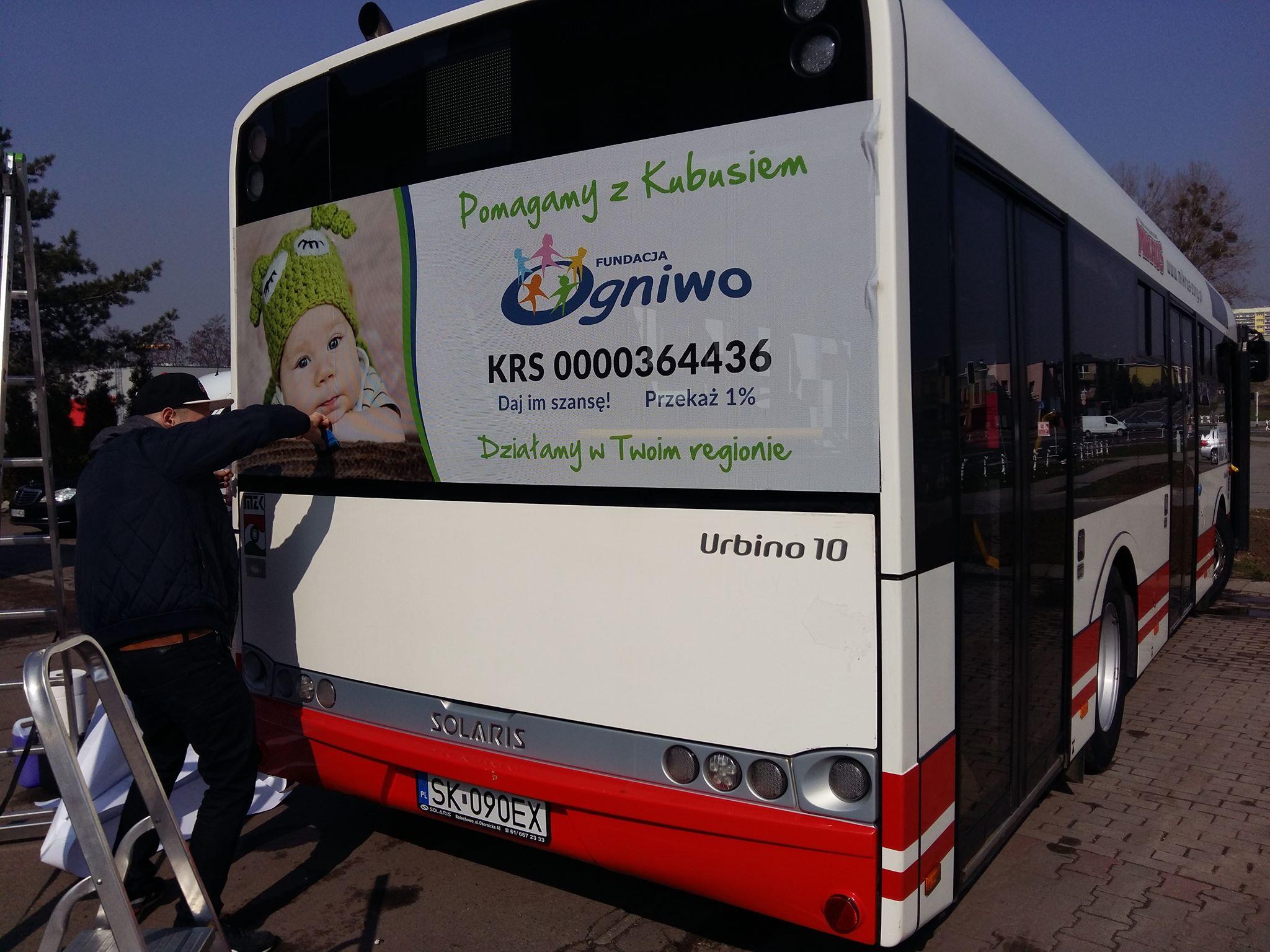Kubuś przesiada się na duże autobusy!